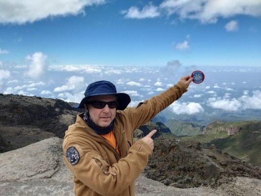 Danijel Weiser na Kilimanđaru 2019