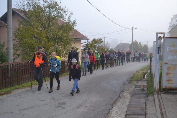 Izlet na Hrastovičku Goru - Kestenijada 14.10.2017