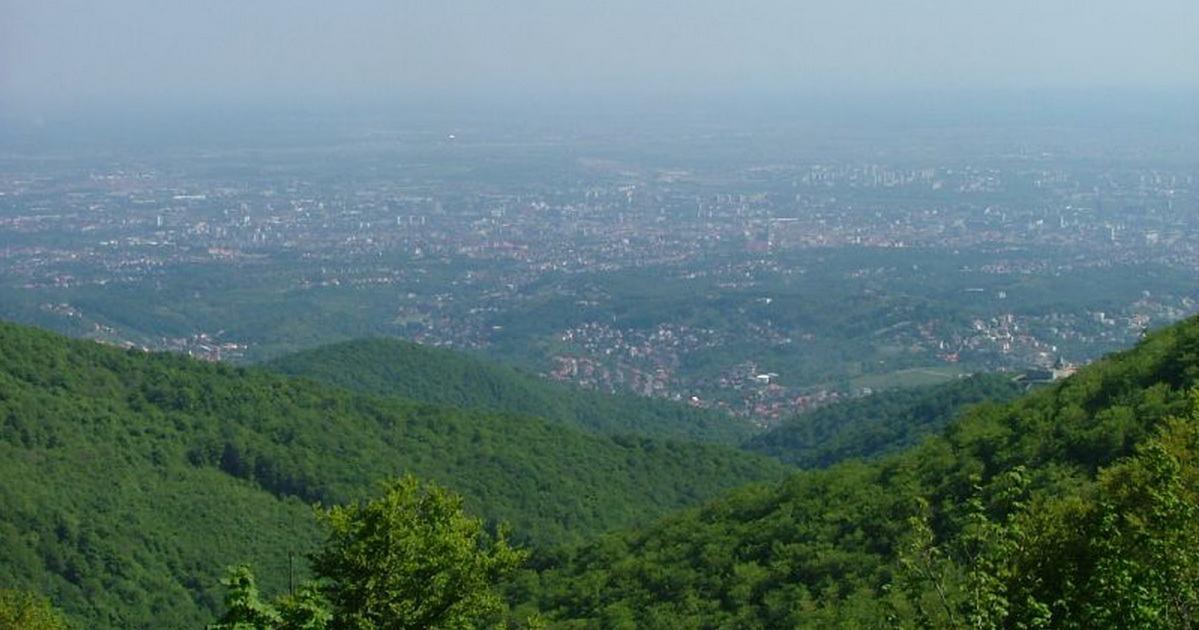 Pogled na Zagreb